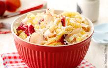 Geflügel-Nudelsalat mit Radicchio