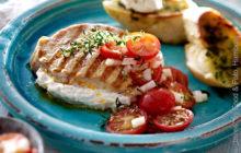 Gefüllte Steaks mit Gorgonzolacreme